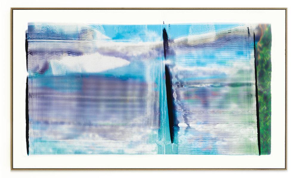 Elias Wessel Die  Freude am Rest – Zur Entmaterialisierung der Bilder, No. 12 , 2018 Photowork Original: 161 x 275,5 cm