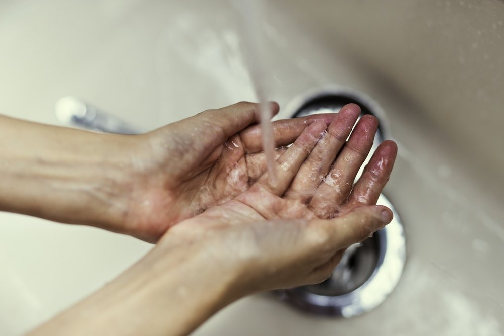Pay particular attention to palms and fingertips when washing your hands, and underneath your fingernails