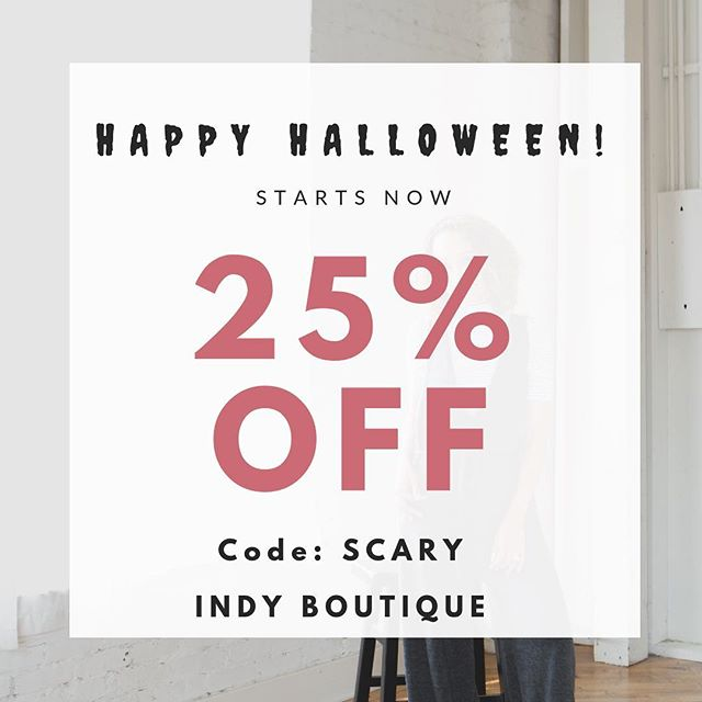 Happy Halloween! Sale ends 11/1! Enjoy! 🎃