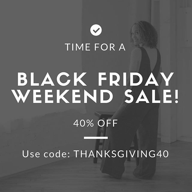 Starting now! Happy Thanksgiving! #shopindyboutique
