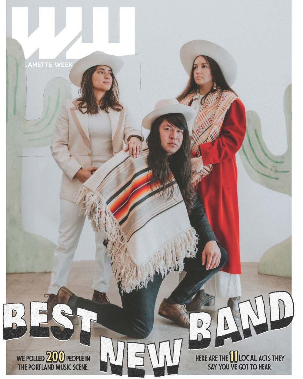 BEST NEW BAND - We poll the pros in the local music business for a list of the best up-and-coming bands of 2019.