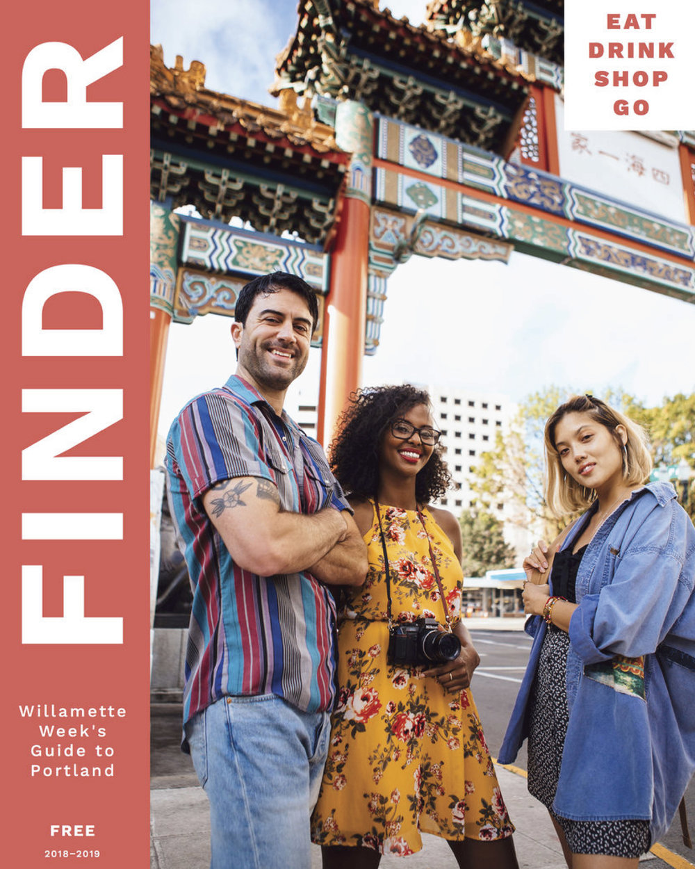 FINDER MAGAZINE - Annual guide to all things great in Portland, focused by neighborhood and targeted at locals and tourists alike.
