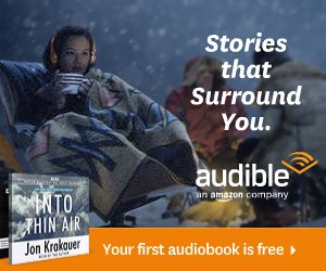 podcast sponsor audible - For you, the listeners of Saint 14 Project Podcast, Audible is offering a free audiobook download with a free 30-day trial to give you the opportunity to check out their service. Help us out and get a great title for yourself, free. Use our link and go check them out today!