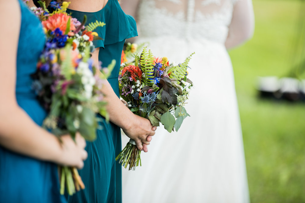 Outdoor Ceremony - Bridal Party