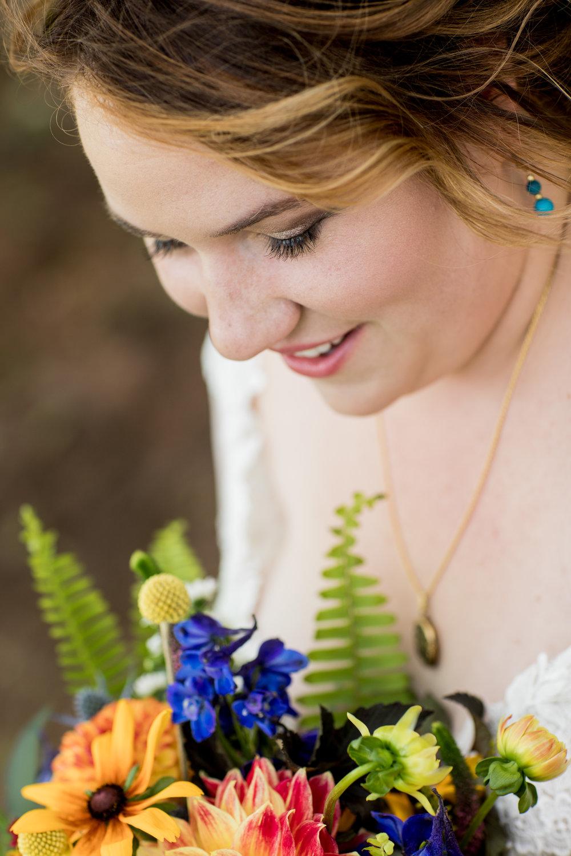 Beautiful Bride Closeup