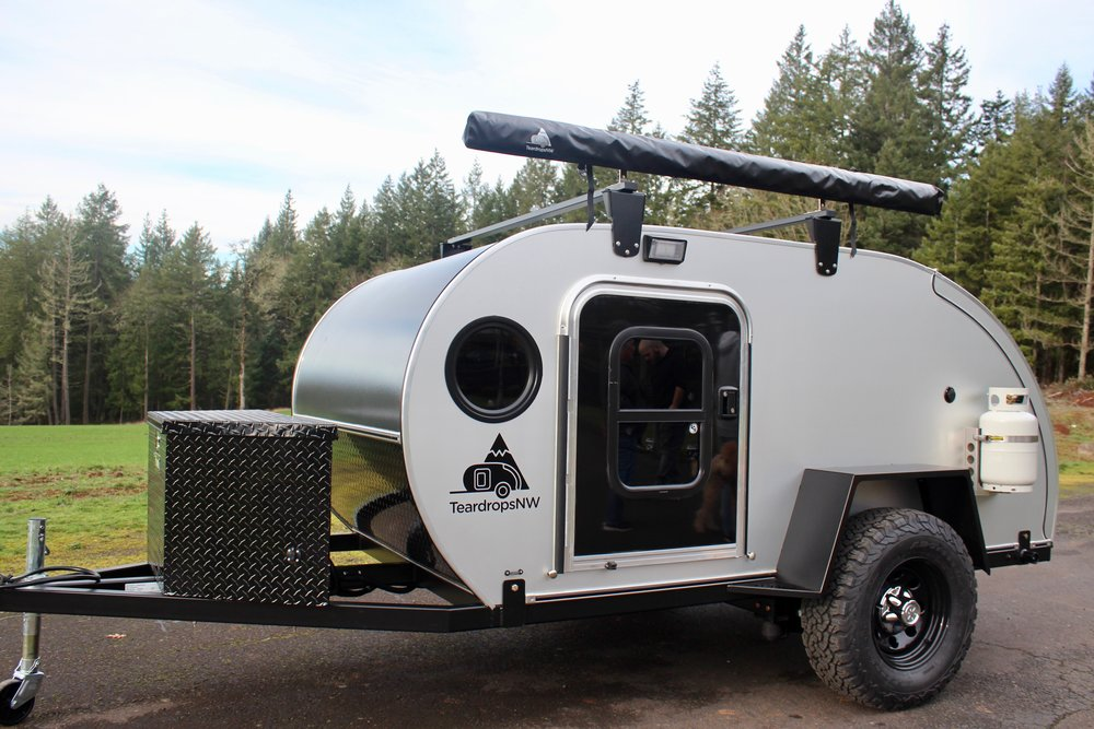 Ranger - Rent this off-road teardrop for your adventure! Comes with a rooftop tent (not shown) to sleep 2-4 total. Fully equipped with a refrigerator/freezer, stove, and camping essentials. Click the button below for more details, pricing, and options!