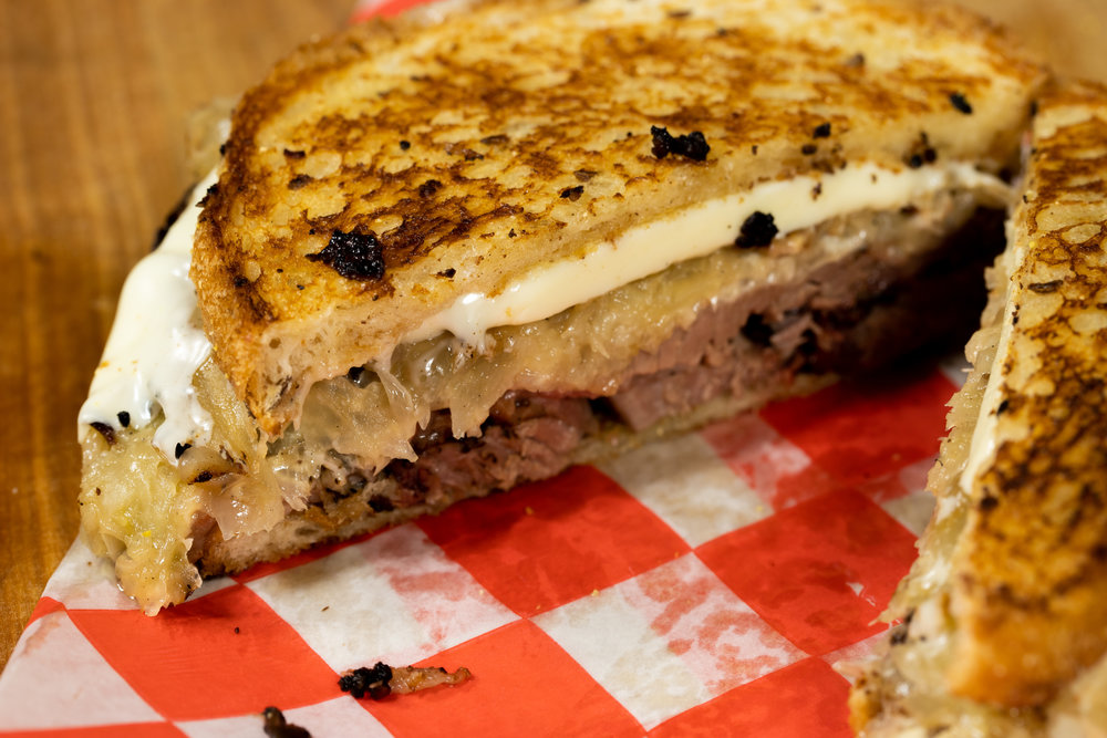 """- """"a deli classic reinvented forsouth Texas tastes…"""""""