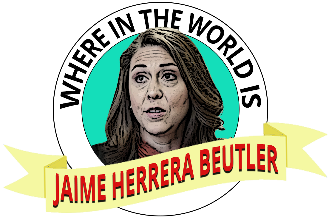 Where in the World is Jaime Herrera Beutler