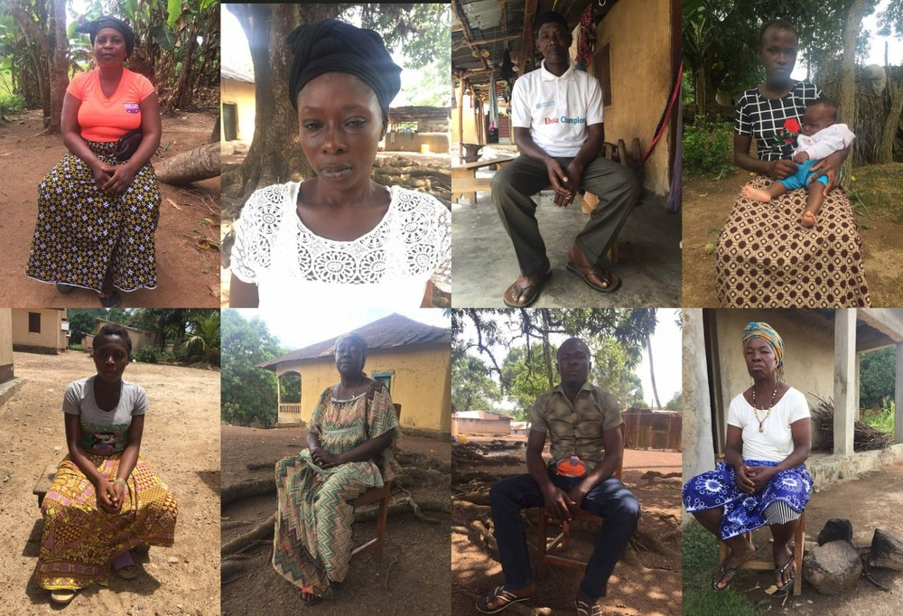 WeSurvive: Stories of the Ebola outbreak - oral histories database