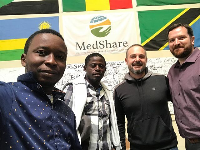 Thank You @medshareofficial, Eric Talbert and all your incredible volunteers for a great event and all the incredible work that you do around the world! #AfricaRising #SurvivorsFilm #ebola #sierraleone