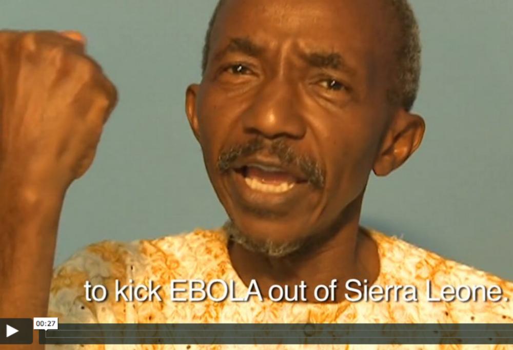 Kick Ebola Out - Campaign
