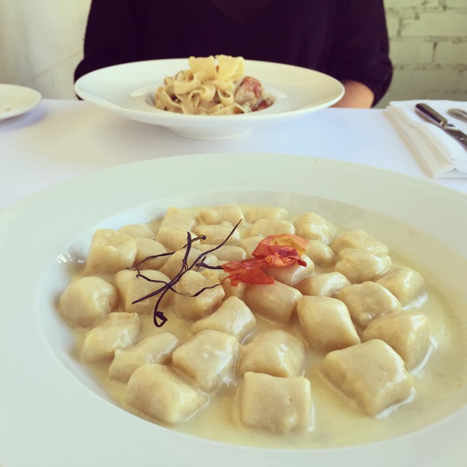 Gnocchi, four cheese