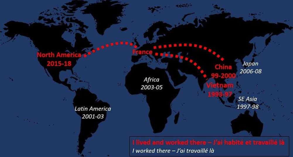 Un parcours véritablement international… et une passion pour le travail au-delà des différences culturelles