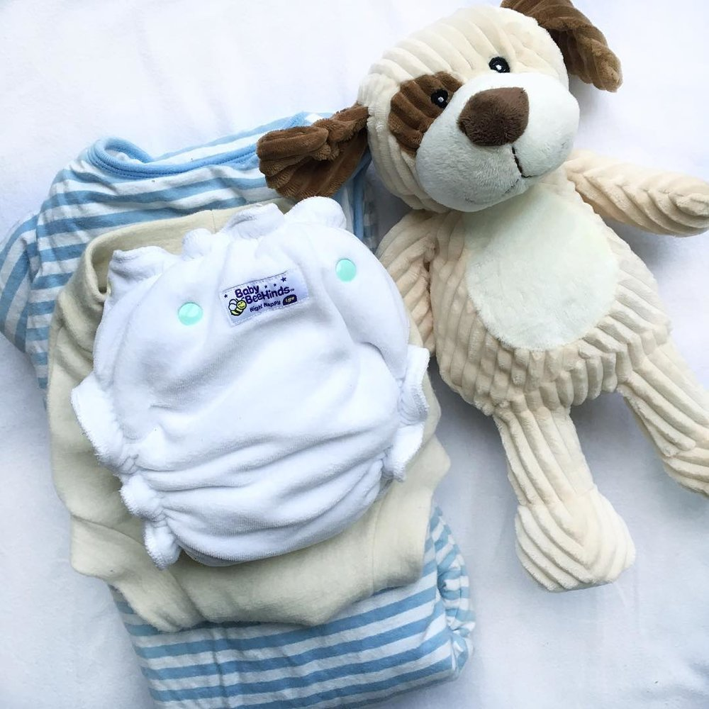 Baby Beehinds Night Nappy - A must-have for your heavy wetter.