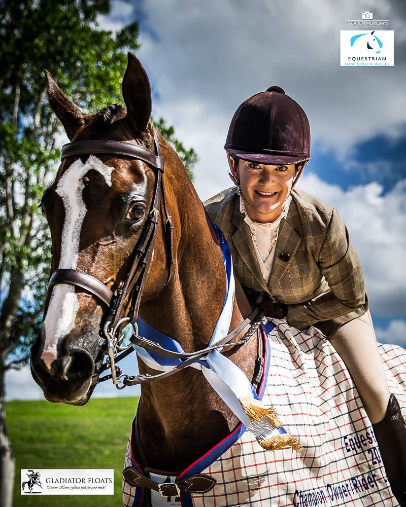 Winner of Champion Owner Rider Equestrian NSW Photo Credit: EA NSW
