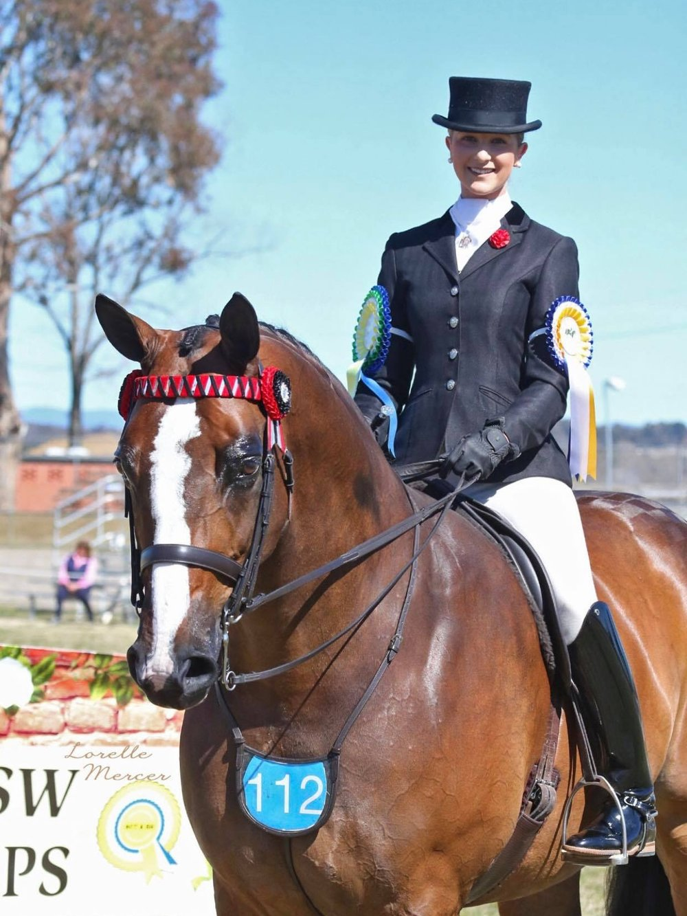 ACT and SOUTHERN NSW Hack Championships Runner Up Rider - Photo Credit Lorelle Mercer