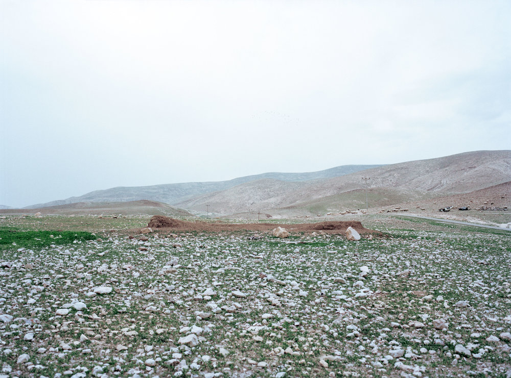 School for bedouin kids, build by the UN, destroyed by the Israeli army, Al Auja