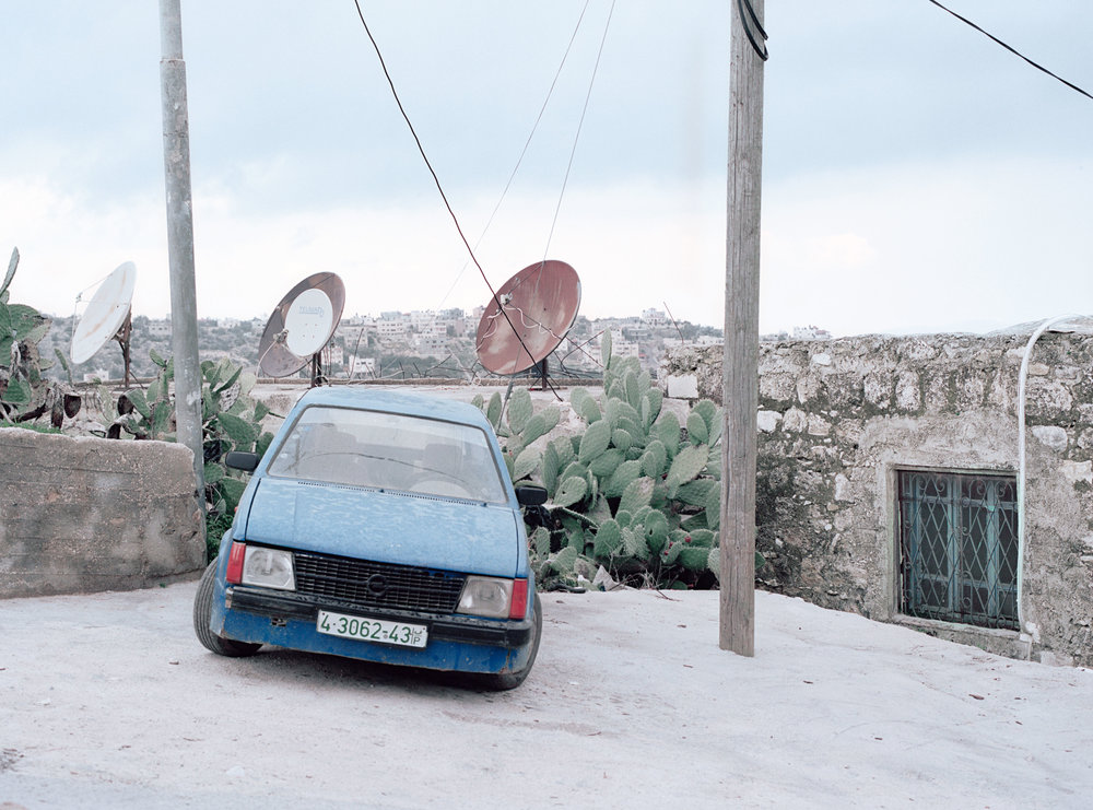 Old car, Jenin area