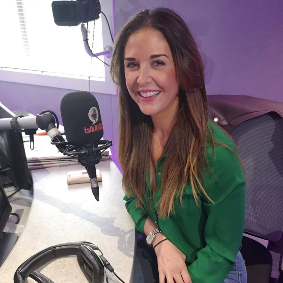 lara was a guest on the steph and dom show on talk radio september 2018