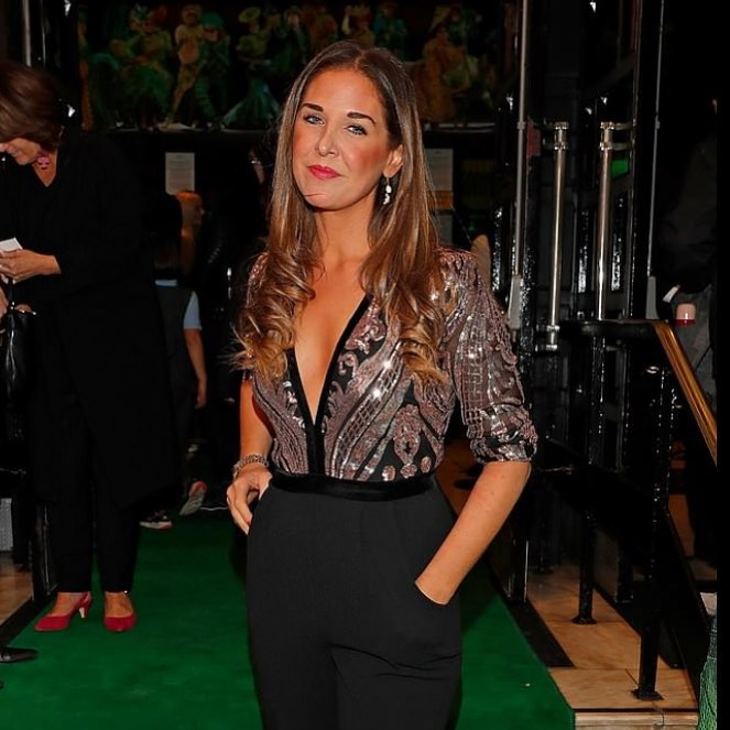 Lara asprey at the media night of wicked the musical on thursday 27th sep