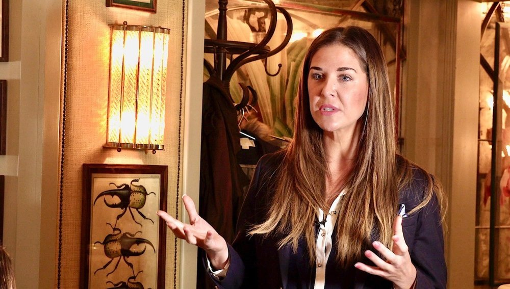 friday 28th sep lara was asked to speak at a breakfast event at the ivy in chelsea
