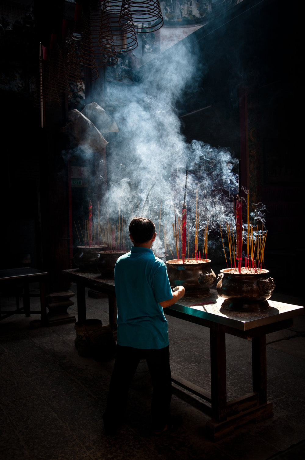 that incense smell - everywhere you will smell the sweet notes of incense