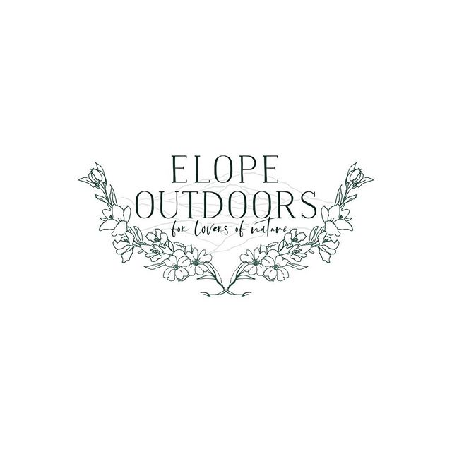 I had the great pleasure of working with the extremely talented Meghan of @elope_outdoors on her new #logo and #branding. Seriously, check out her stunning #wedding images! If you know my style by now you'll see this was right up my street - #botanicals and beautiful #typography... what more does a beautiful logo need!  Another of my faves to add to the list. . . . . #photographerbranding #logo #logodesign#theautumnrabbit #graphicdesign#photographerlogo#photography #design#inspiration #designinspiration #botanicallogo #mountainlogo #florals #elopephotographer