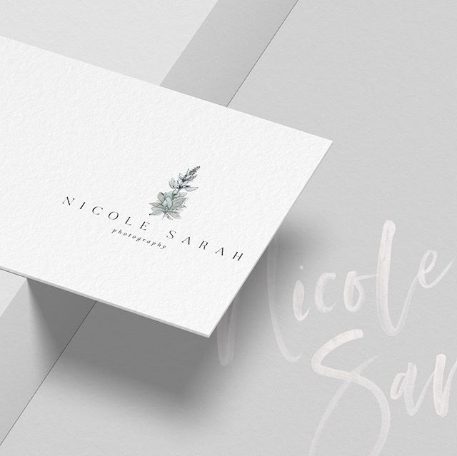 Finished up this lovely new logo and brand last week for Nicole Sarah Photography.  One of my favourite styles #mixedmedia #watercolor #sketched of some beautiful #lambsear. And what about that awesome brush font by @setsailstudios Possibly my new favorite. . . . . #logo #logodesign #brandidentity #identitydesign #customlogo #submark #graphicdesign #branding #branddesigner #designfeed #designinspiration #freelancedesigner  #handpainted #typography