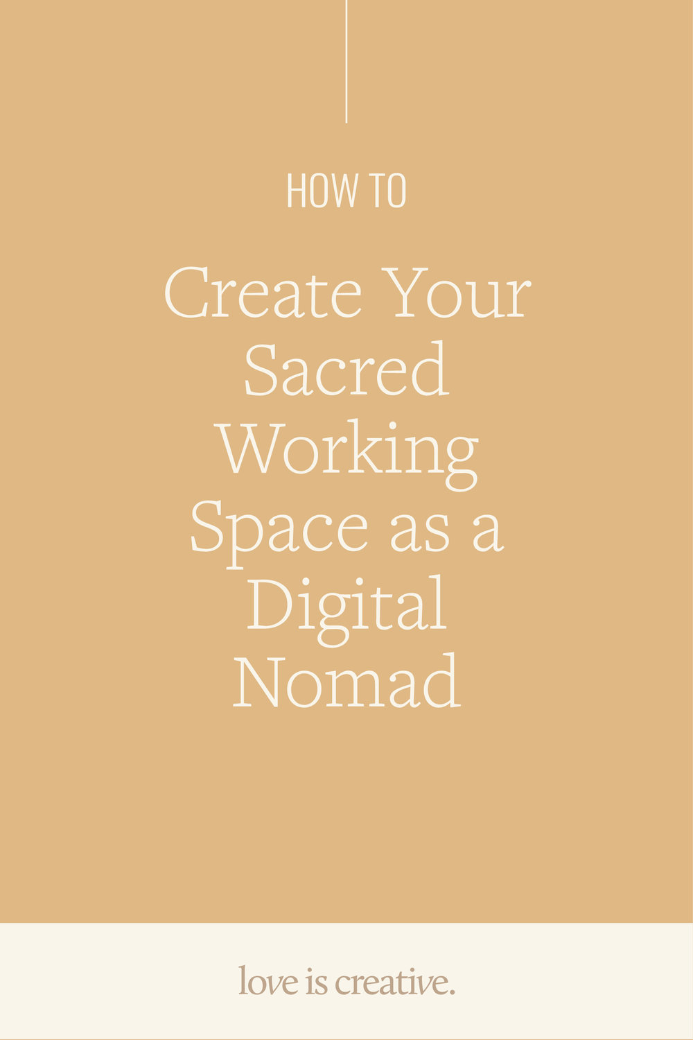 How to Create your Sacred Working Space as a Digital Nomad