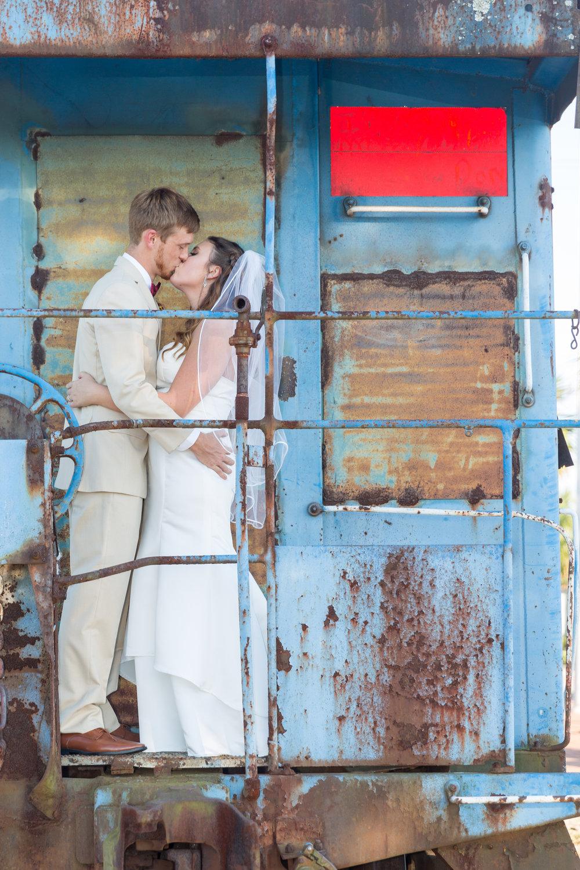 Train Depot Wedding Photographer 1