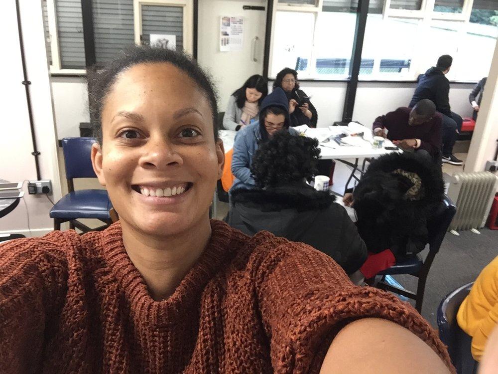 Me at Instapoetry workshop