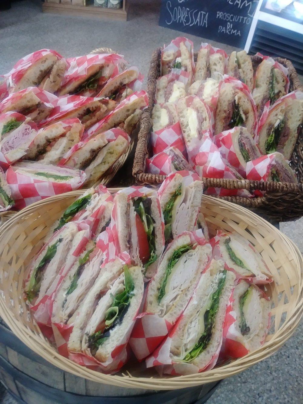 Sandwich-basket