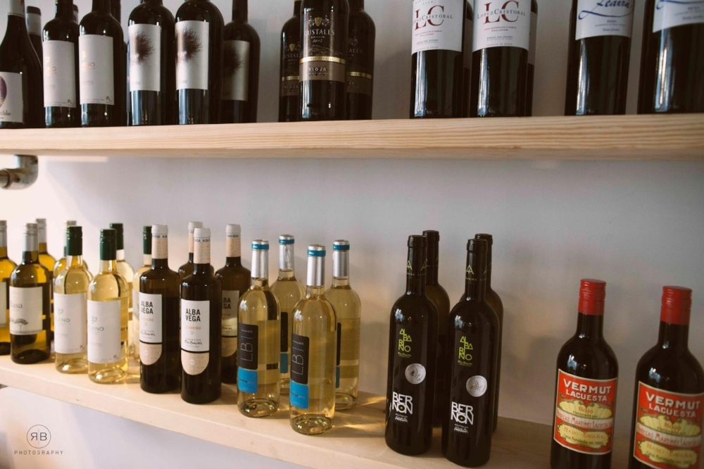 Spanish wines -