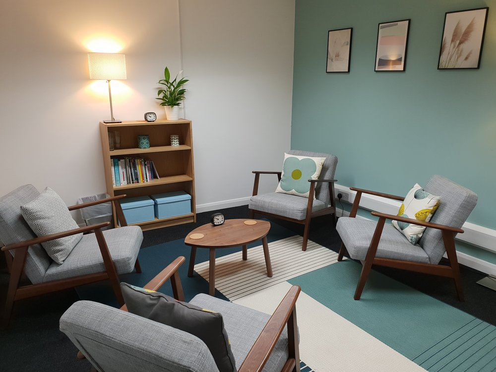 Our counselling room in the centre of Eastbourne