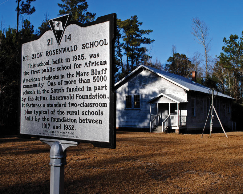 Mt. Zion Rosenwald School, South Carolina