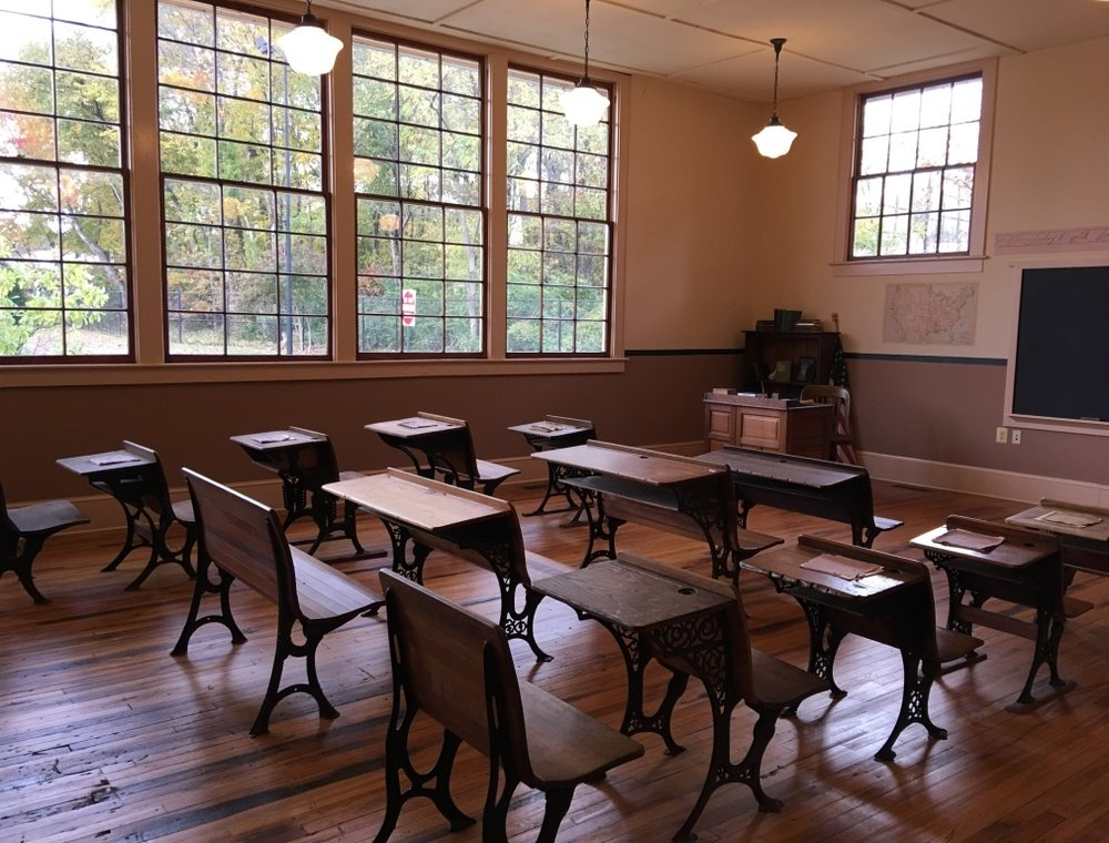 Ridgeley Rosenwald School, restored in Prince George's County, Maryland