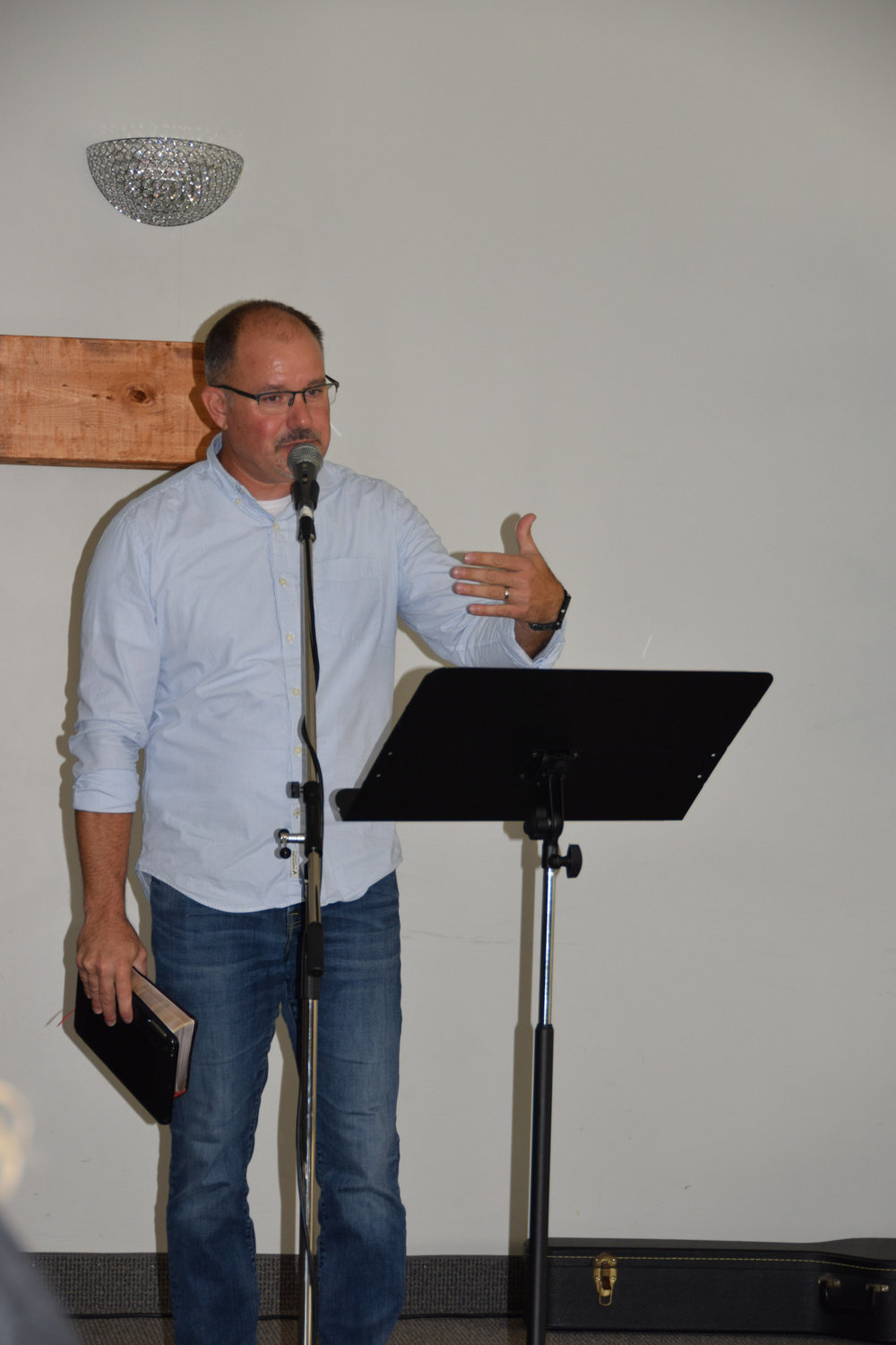 """Lead Pastor Todd MacGregor is learning what it means not just to """"do church."""""""