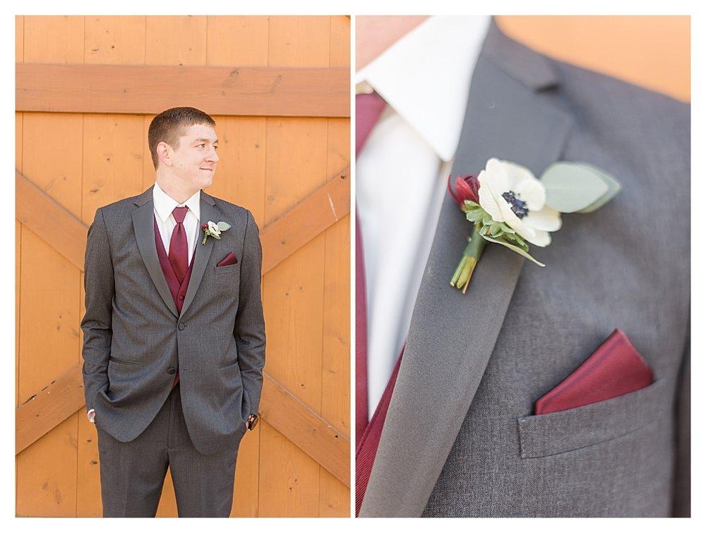 Hidden Hollow Farm Navy and Burgundry Wedding 8.jpg