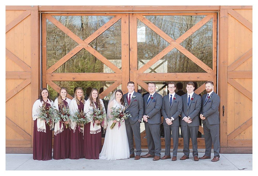 Hidden Hollow Farm Navy and Burgundry Wedding 31.jpg