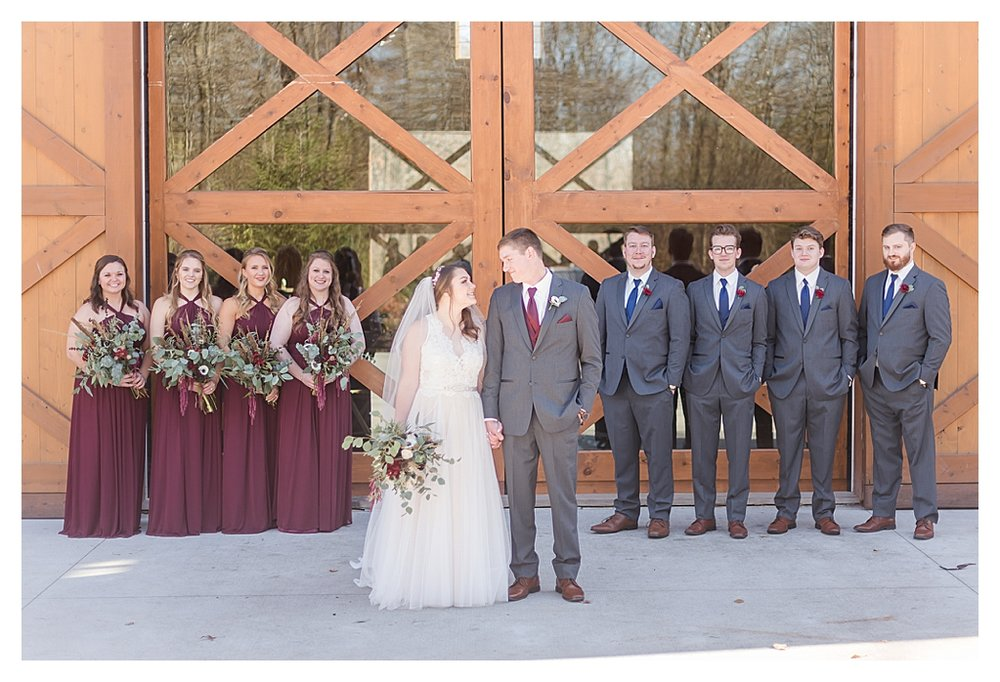 Hidden Hollow Farm Navy and Burgundry Wedding 32.jpg