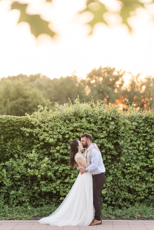 Indianapolis Wedding Photographers Wedding Day Timeline Sunset Photos