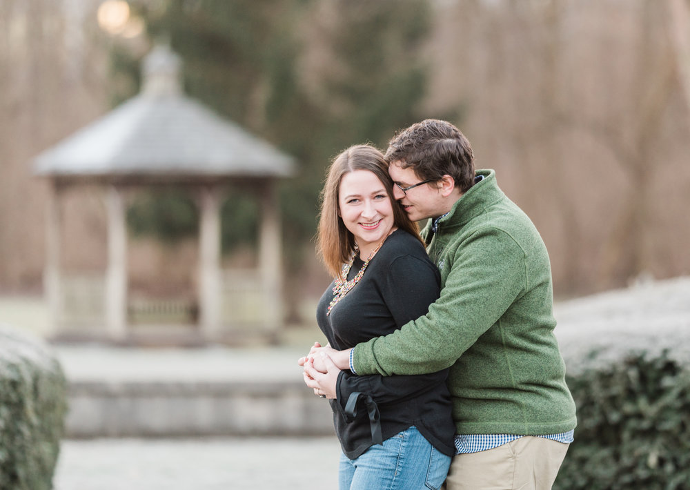 Best Engagement Session Locations in Indianapolis Holcomb Gardens