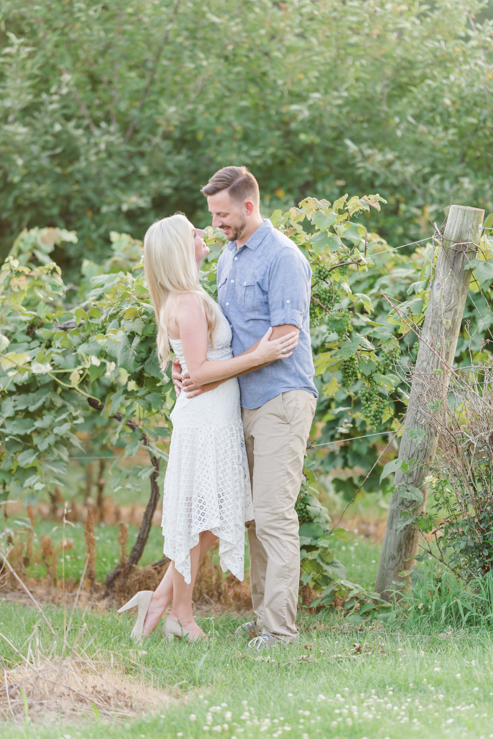 Best Engagement Session Locations Indianapolis Wineries and Vineyards