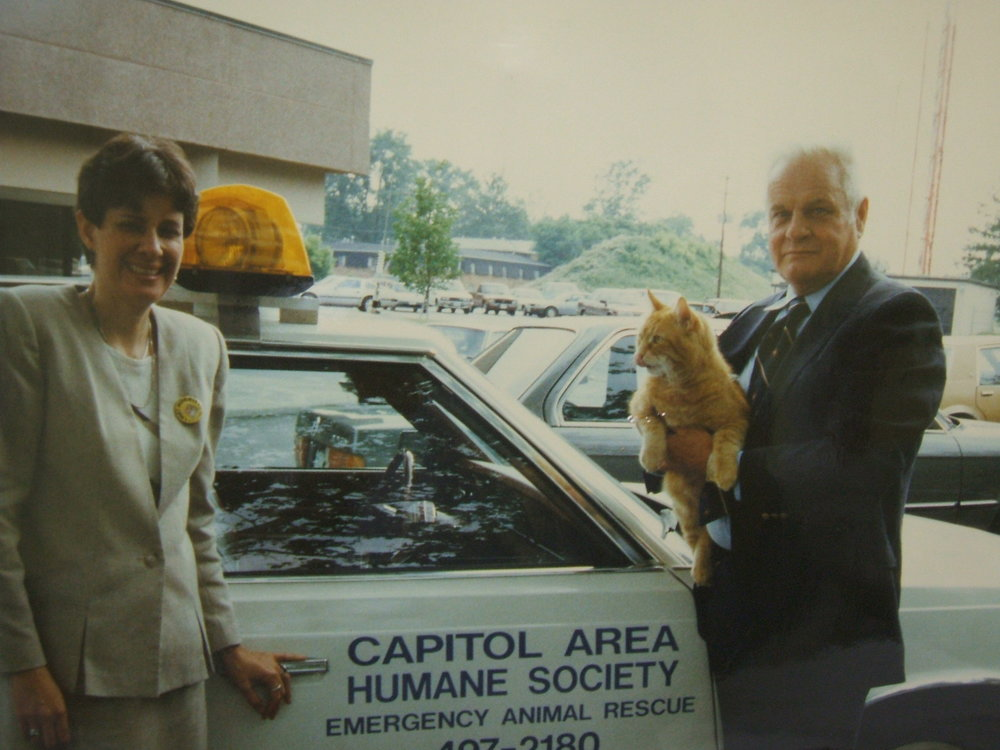 september 1973 - The name was changed from the Humane Society of the City of Columbus to the Capital Area Humane Society.