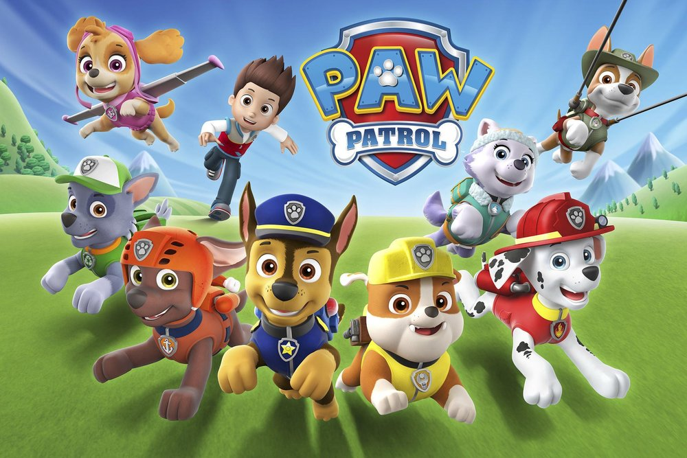 """PAW PATROL - Theme Song Written and produced byMichael """"Smidi"""" Smith and Scott KrippayneEmmy Award Nominee """"Best Original Song"""""""