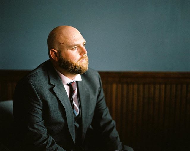 When we shoot weddings and portrait sessions, I take advantage of having a bit of organization and time, to shoot some film. I had portraits of Justin already, so I pulled out the Pentax and took a couple frames on Portra 400. The window light in this room was fantastic, and fit the room perfectly with a bit of drama. The brides room, bright and airy. So I set Justin in this chair about 8 feet away from the window, in a corner, and had him look away from me, as if he was thinking about his first look that followed shortly after. We got lucky, the light basically created a halo around him on the back wall. Perfect! ⠀⠀⠀⠀⠀⠀⠀⠀⠀⠀⠀⠀ ⠀⠀⠀⠀⠀⠀⠀⠀⠀⠀⠀⠀ ⠀⠀⠀⠀⠀⠀⠀⠀⠀⠀⠀⠀ ⠀⠀⠀⠀⠀⠀⠀⠀⠀⠀⠀⠀ ⠀⠀⠀⠀⠀⠀⠀⠀⠀⠀⠀⠀ ⠀⠀⠀⠀⠀⠀⠀⠀⠀⠀⠀⠀ #120love #northeastphotographic #filmphotograph #filmphotomag #filmisalive #dreamermagazine #filmphotography #filmisnotdead #analog #portraitsonfilm #filmportrait #filmwedding #weddingfilm #analogwedding #maleportrait #hattiesburgms #hattiesburg #getdowntown #filmandfriends #emotiveportrait #naturallight #grooms #filmphotographic #portrait_mood #portrait_vision #portrait_page #moodyports #portra400 #pentax67