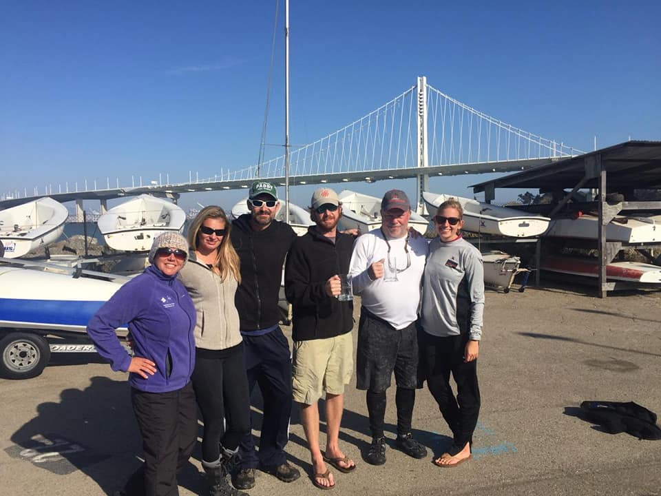 Last year we had six members of our fleet participate in San Francisco, CA!  Laura, Ania, Andrew, Clint, Jim, Julie at Nationals 2018!