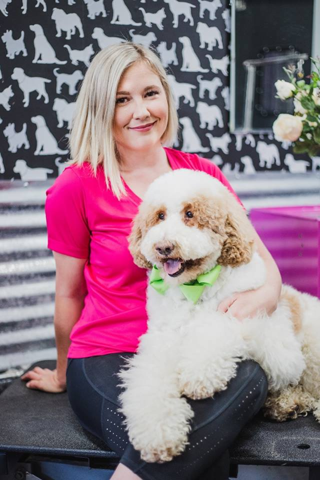 Meet Hillary, The Owner!  I have been grooming for over 13 years. I started my career with animals just out of high school & loved how there was never a dull moment. I worked corporate for 10 years before opening Shampooch Pet Styles in 2014. I love that my job allows me to be around fur-kids all day & grooming channels my creative side. I love taking seminars & business classes to bring our latest industry standards to clients! Not only do I have 3 kids, but I have a loving pack of Standard Poodles at home. When I'm not working, I love to travel & see new places. My family and I are avid campers that love the outdoors. I also enjoy cooking, & trying new dishes.