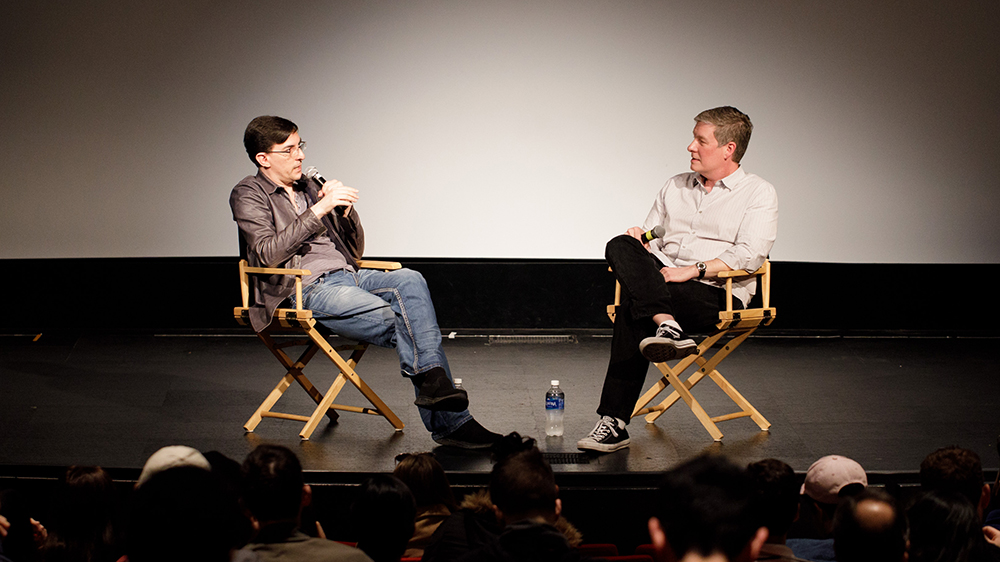 Academy Award-nominated screenwriter Eric Heisserer and film instructor and screenwriter Doug Eboch