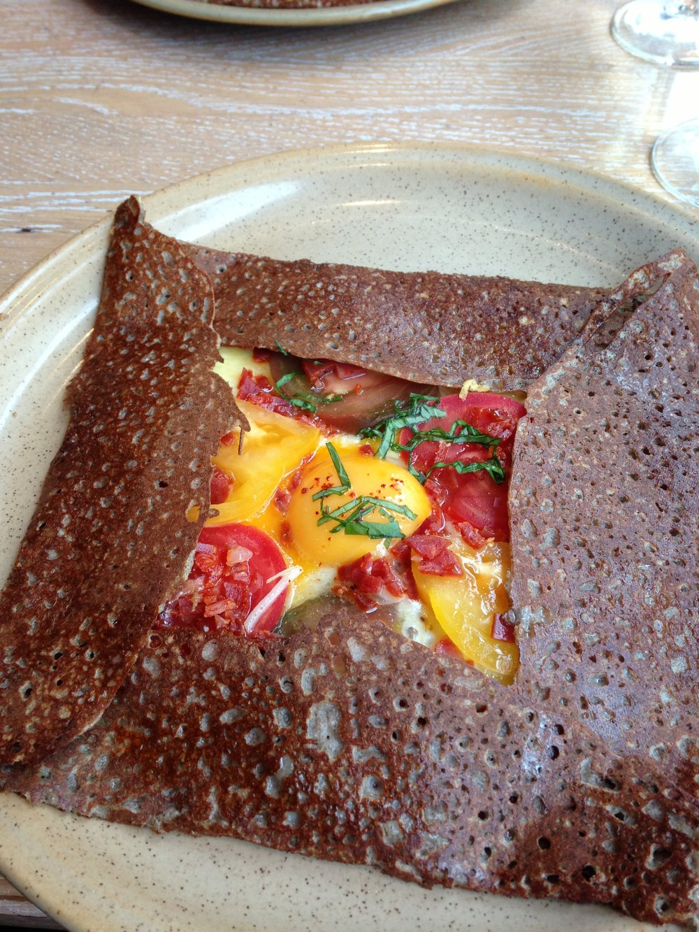 Galettes at Breizh Cafe | Where to eat in Paris, France